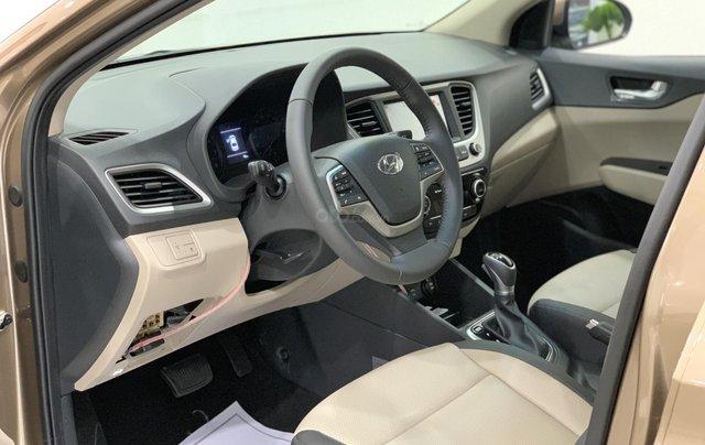 Giao xe toàn quốc, Hyundai Accent 1.4 bản đủ đời 2019, màu nâu, số tự động7
