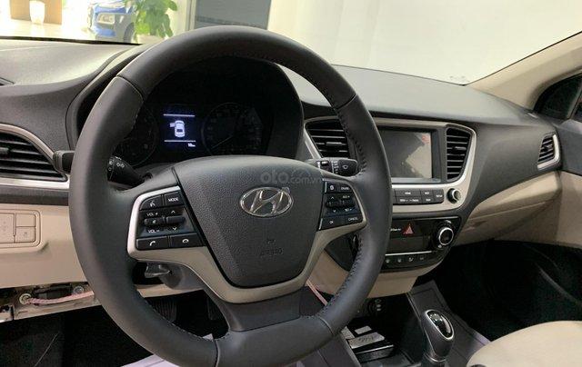Giao xe toàn quốc, Hyundai Accent 1.4 bản đủ đời 2019, màu nâu, số tự động8