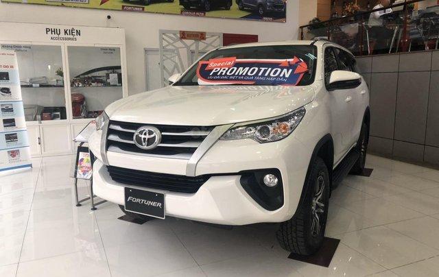 Toyota Bến Thành - Xả hàng cuối năm chiếc xe Toyota Fortuner đời 2019, màu trắng 0