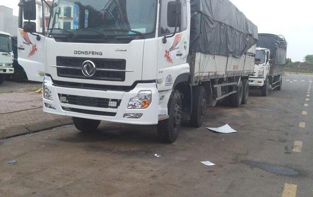 Bán xe tải Hoàng Huy 4 chân cũ, màu trắng, tải 17,9 tấn máy cực chất - Liên hệ 09317899593