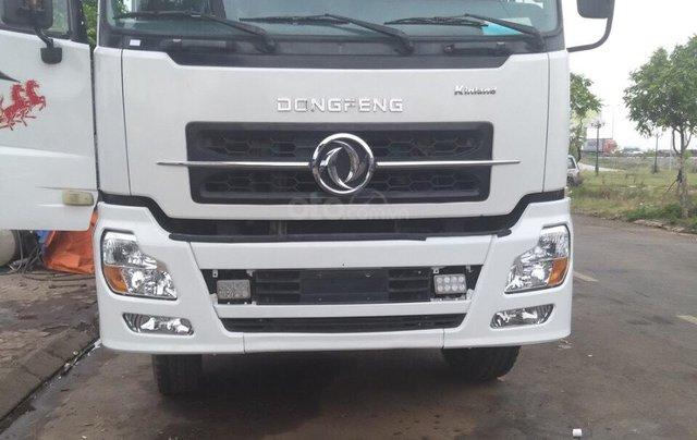 Bán xe tải Hoàng Huy 4 chân cũ, màu trắng, tải 17,9 tấn máy cực chất - Liên hệ 09317899594