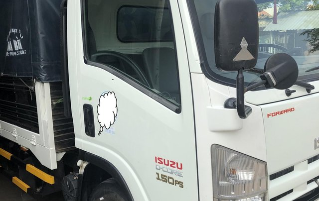 Xe Nhật Isuzu NQR 5.2 tấn, thùng bạt 6.2m, sx năm 20142