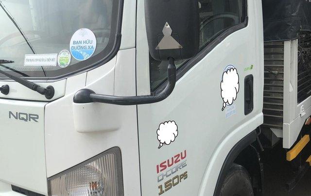 Xe Nhật Isuzu NQR 5.2 tấn, thùng bạt 6.2m, sx năm 20143