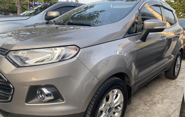 Bán Ford EcoSport Titanium sản xuất 2017, màu xám (ghi)0