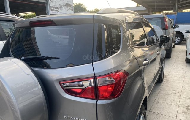 Bán Ford EcoSport Titanium sản xuất 2017, màu xám (ghi)1