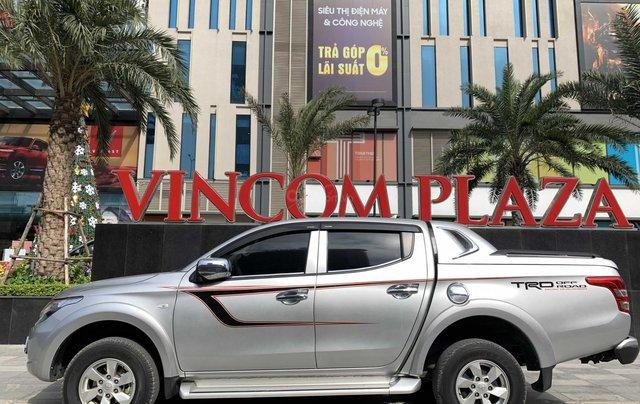 Cần bán xe Mitsubishi Triton năm 2017, màu bạc mới 95% 1 chủ giá chỉ 508 triệu đồng1