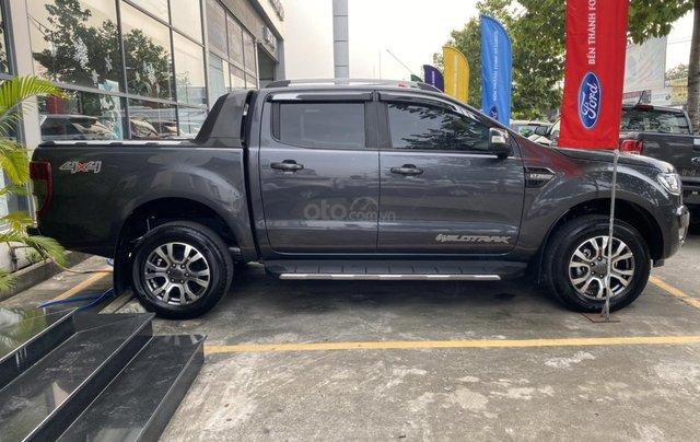Bán Ford Ranger đời 2018, màu xám, xe nhập Thái Lan2