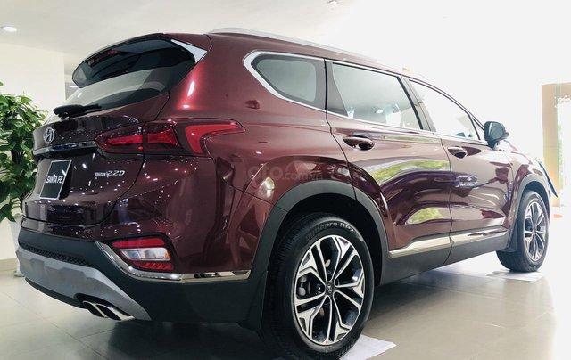 Hyundai Santa Fe 2.4 máy xăng bản cao cấp, đời 2019, màu đỏ, Giảm giá trực tiếp tiền mặt + Trả góp 0%1
