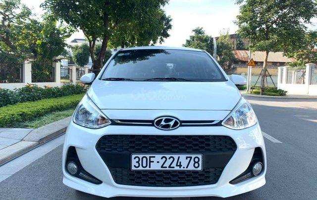 Bán xe Hyundai Grand i10 1.2 sản xuất 2018, màu trắng - Liên hệ 09795361680