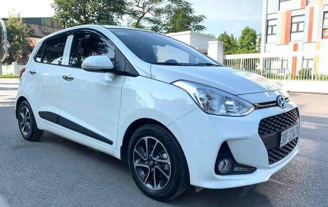 Bán xe Hyundai Grand i10 1.2 sản xuất 2018, màu trắng - Liên hệ 09795361681