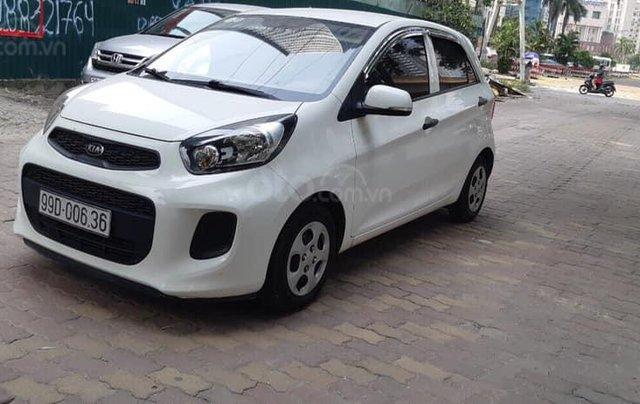 Cần bán Kia Morning sản xuất năm 2015, màu trắng, nhập khẩu nguyên chiếc, 280 triệu - Liên hệ 09795361682