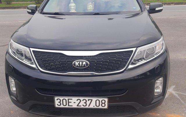 Cần bán Kia Sorento 2.2 DATH sản xuất 2016, màu đen, giá cạnh tranh, LH 09346222285