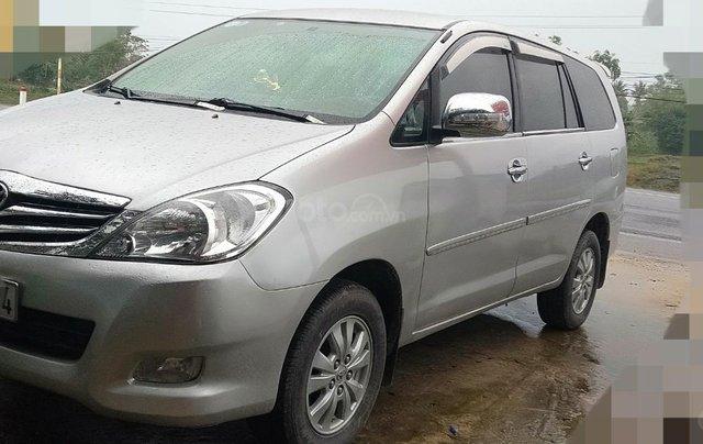 Cần bán Toyota Innova G xịn 2011, màu bạc, xe gia đình ít đi, nhập khẩu nguyên chiếc0