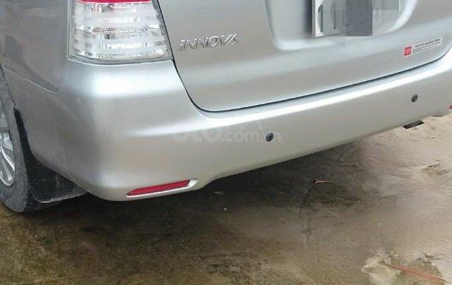 Cần bán Toyota Innova G xịn 2011, màu bạc, xe gia đình ít đi, nhập khẩu nguyên chiếc1
