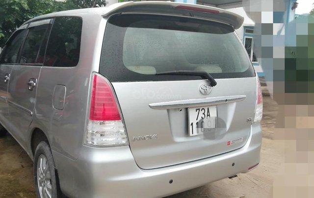 Cần bán Toyota Innova G xịn 2011, màu bạc, xe gia đình ít đi, nhập khẩu nguyên chiếc2