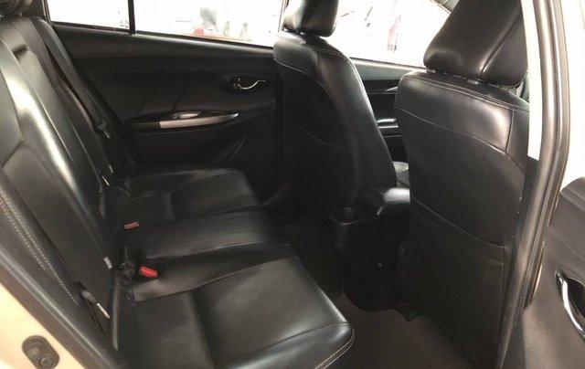 Cần bán xe Toyota Vios 1.5G năm 2014, màu vàng như mới, 430tr5