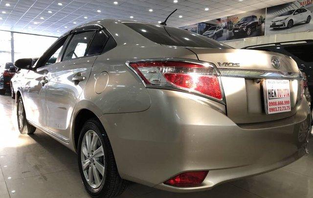 Cần bán xe Toyota Vios 1.5G năm 2014, màu vàng như mới, 430tr6