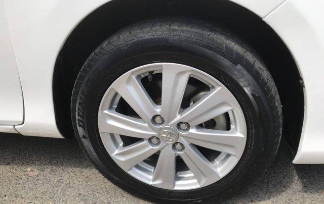 Cần bán Toyota Vios 1.5E CVT sản xuất năm 2016, màu trắng, số tự động4