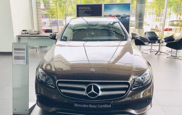 Bán Mercedes E250 năm sản xuất 2019, màu nâu, nhập khẩu như mới0