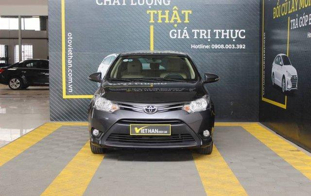 Bán xe Toyota Vios sản xuất năm 2017, màu xám, giá cạnh tranh2