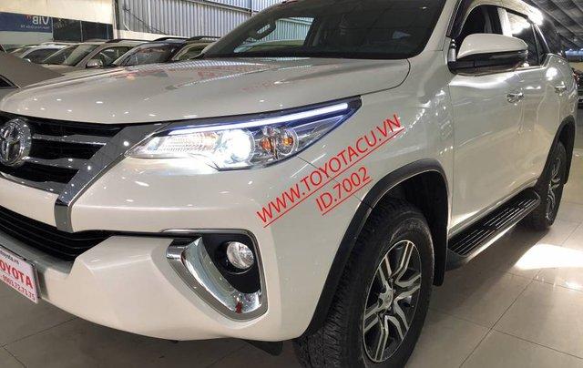 Cần bán Toyota Fortuner 2.7V năm 2019, màu trắng, xe nhập 9