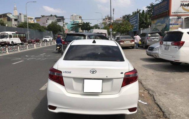 Cần bán Toyota Vios 1.5E CVT sản xuất năm 2016, màu trắng, số tự động1