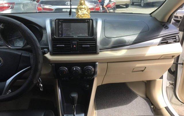 Cần bán Toyota Vios 1.5E CVT sản xuất năm 2016, màu trắng, số tự động10