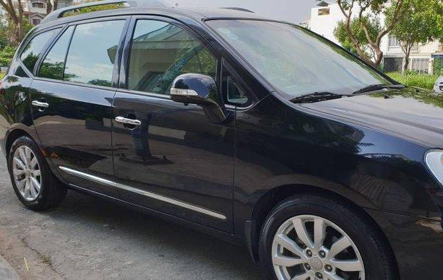 Bán Kia Carens SX 2.0 AT năm 2011, màu đen còn mới, giá tốt10