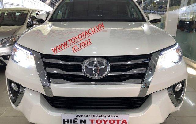 Cần bán Toyota Fortuner 2.7V năm 2019, màu trắng, xe nhập 10