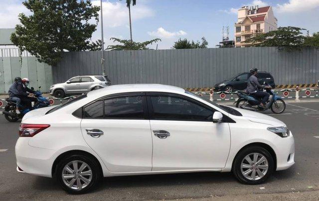 Cần bán Toyota Vios 1.5E CVT sản xuất năm 2016, màu trắng, số tự động3