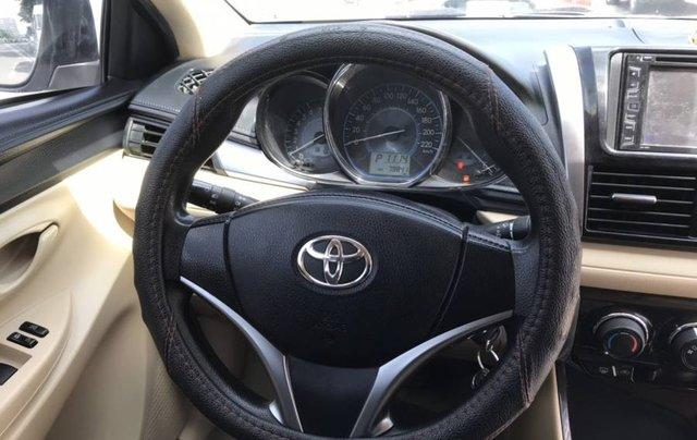 Cần bán Toyota Vios 1.5E CVT sản xuất năm 2016, màu trắng, số tự động9