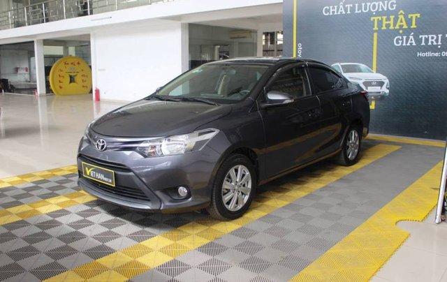 Bán xe Toyota Vios sản xuất năm 2017, màu xám, giá cạnh tranh1