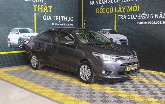 Bán xe Toyota Vios sản xuất năm 2017, màu xám, giá cạnh tranh0