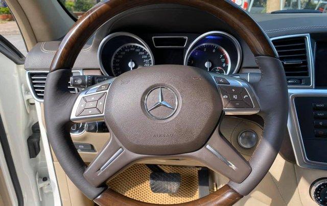 Bán ô tô Mercedes GL500 4Matic model 2015 màu trắng, nhập khẩu nguyên chiếc6