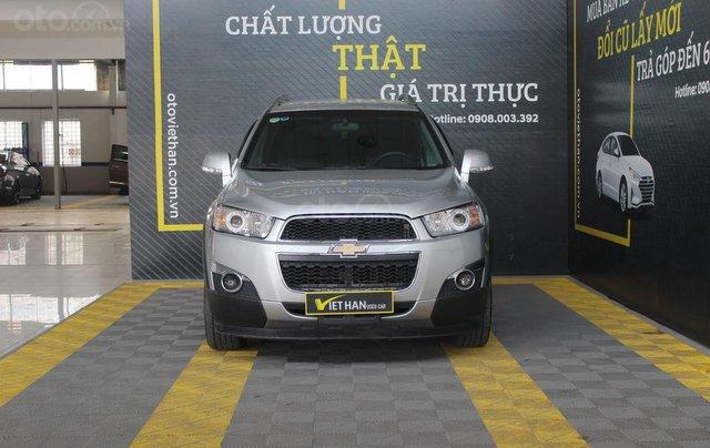 Chevrolet Captiva LT 2.4MT 2013, có kiểm định chất lượng xe2
