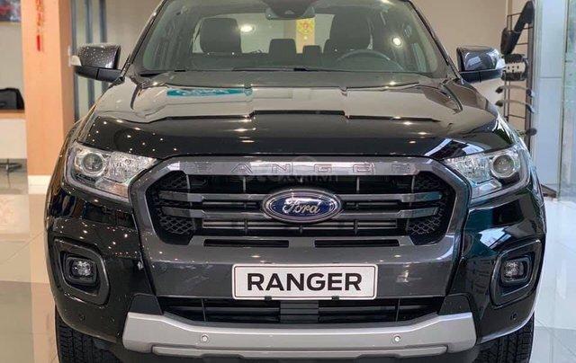 Giảm giá tiền mặt + Gói phụ kiện + Lãi suất 0%, Ford Ranger XLS năm sản xuất 2019, màu đen0
