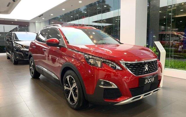 """Peugeot 3008 all new đủ màu """" Đặc biệt có màu đỏ và xanh mới"""" giao xe ngay, hỗ trợ ngân hàng, tư vấn lái thử tận nhà2"""