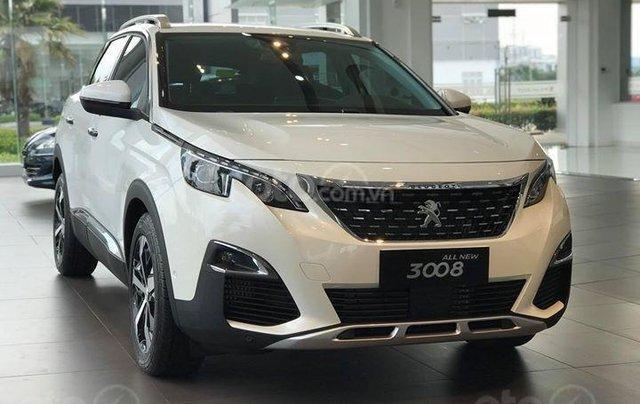 Bán ô tô Peugeot 3008 All New sản xuất năm 2018, màu trắng0