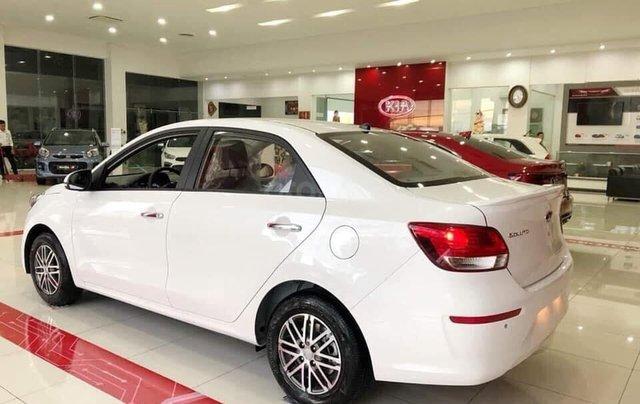 Chỉ với 140 triệu, nhận xe vi vu ngay, Kia Soluto 1.4L Deluxe sản xuất năm 2019, màu trắng3