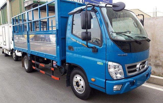 Xe tải 2,3 tấn Thaco Ollin 350.E4, thùng dài 4,3m, công nghệ Isuzu, hỗ trợ trả góp0
