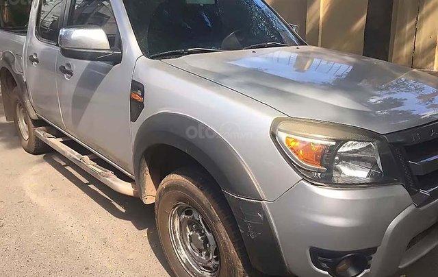Cần bán Ford Ranger XL đời 2011, màu bạc, nhập khẩu  0