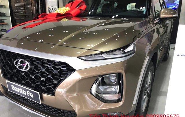 Hyundai Santa Fe giá tốt nhất thị trường cùng gói phụ kiện lên đến 20tr0