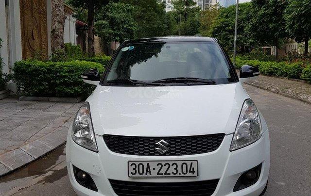 Bán xe Suzuki Swift đời 2014, màu trắng giá cạnh tranh, liên hệ 09088019840