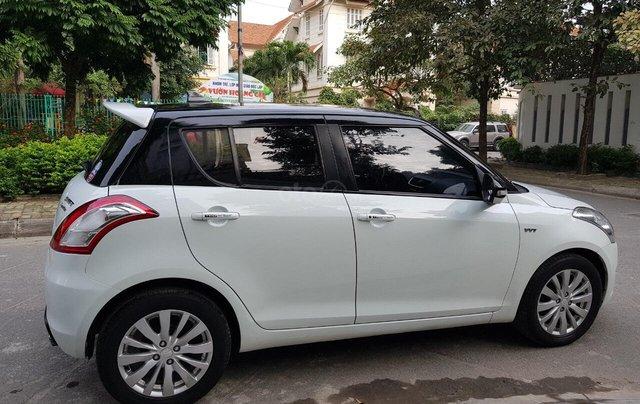Bán xe Suzuki Swift đời 2014, màu trắng giá cạnh tranh, liên hệ 09088019846
