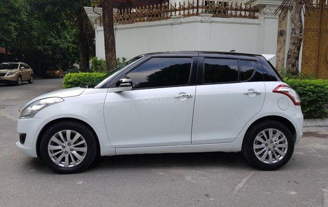 Bán xe Suzuki Swift đời 2014, màu trắng giá cạnh tranh, liên hệ 09088019845