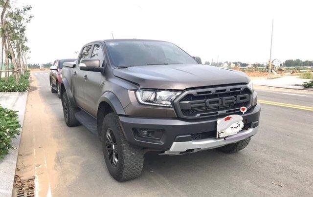Bán ô tô Ford Ranger 2.0 Raptor năm 2018, màu đen, nhập khẩu0