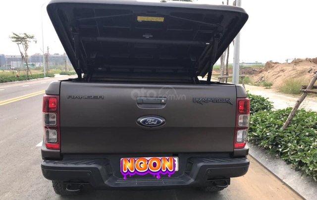 Bán ô tô Ford Ranger 2.0 Raptor năm 2018, màu đen, nhập khẩu7