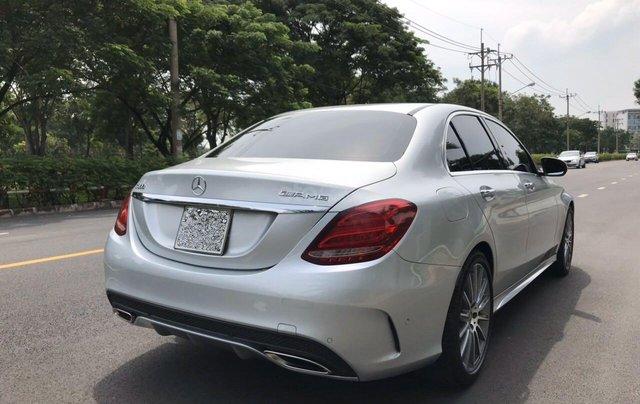 Bán ô tô Mercedes-Benz C300 AMG 2017, màu bạc còn mới, giá 1 tỷ 580 triệu đồng1