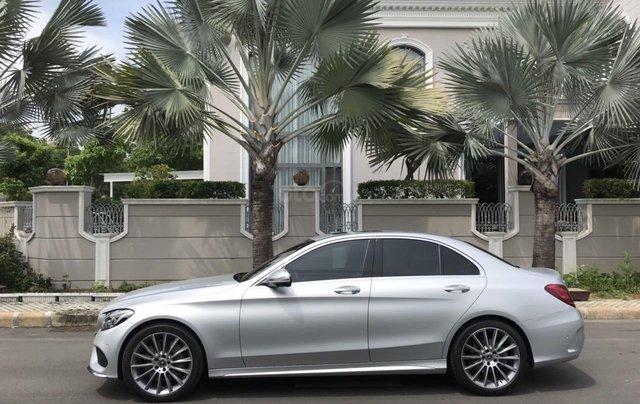 Bán ô tô Mercedes-Benz C300 AMG 2017, màu bạc còn mới, giá 1 tỷ 580 triệu đồng3
