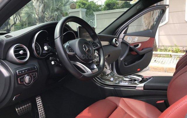 Bán ô tô Mercedes-Benz C300 AMG 2017, màu bạc còn mới, giá 1 tỷ 580 triệu đồng9